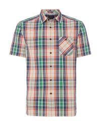 Howick | Blue Bangalore Check Short Sleeve Shirt for Men | Lyst