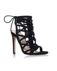 Carvela Kurt Geiger | Black Gracie High Heel Sandals | Lyst