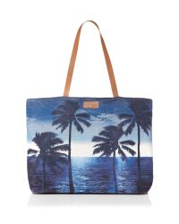 Seafolly | Blue Carried Away Tropix Beach Tote | Lyst