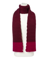 Dickins & Jones | Blue Zig Zag Knit Scarf for Men | Lyst