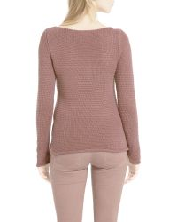 Marc O'polo - Brown Knitted Sweater - Lyst