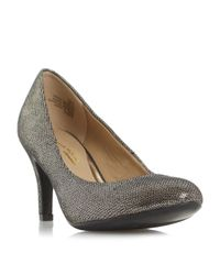 Dune | Blue Annie Round Toe Court Shoes | Lyst