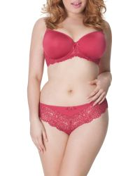 Curvy Kate | Pink Smoothie Deluxe Brazilian | Lyst