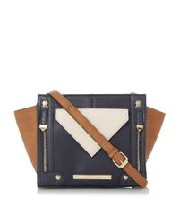 Dune | Blue Hadeley Winged Pocket Cross Body Bag | Lyst