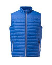 Tommy Hilfiger | Blue Lw Down Vest for Men | Lyst
