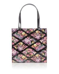 Ted Baker | Black Beticon Small Floral Bowcon Bag | Lyst