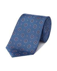 Richard James | Blue Bloom Silk Tie for Men | Lyst