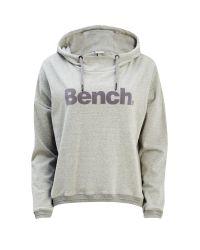 Bench | Gray Current Overhead Sweatshirt | Lyst