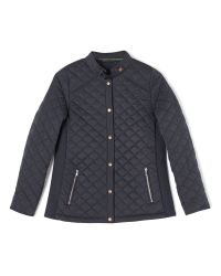 Dash | Blue Quilted Rib Side Jacket | Lyst