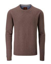 Skopes | Brown Harris Knitwear for Men | Lyst