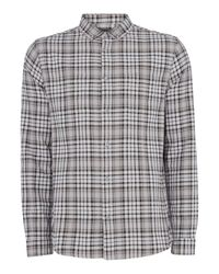 Label Lab | Green Jordan Large Checked Shirt for Men | Lyst