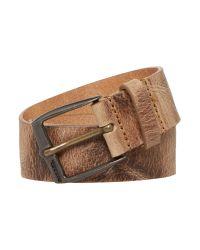DIESEL | Brown B-whys Logo Buckle Belt for Men | Lyst