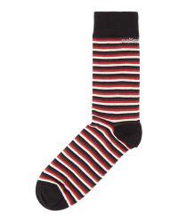 Björn Borg | Red Japanese Stripe Socks for Men | Lyst