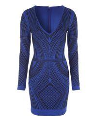 Jane Norman | Blue Caviar Long Sleeve Dress | Lyst
