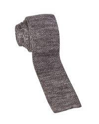 White Stuff | Gray Springer Plain Knit Tie for Men | Lyst