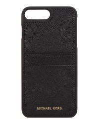 Michael Kors | Black Iphone 7 Plus Phone Cover for Men | Lyst