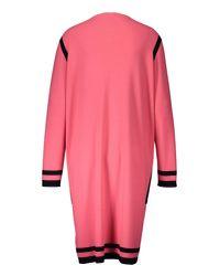 Basler - Pink Long Line Cardigan - Lyst
