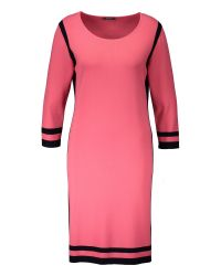 Basler | Pink Dress With Contrasting Edging | Lyst