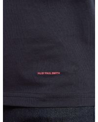 PS by Paul Smith - Blue Light Bulb Print Crew Neck T-shirt for Men - Lyst
