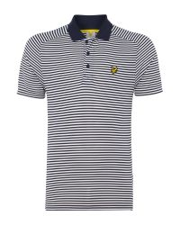 Lyle & Scott | Blue Golf Hawick Technical Polo Shirt for Men | Lyst
