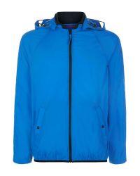 Victorinox | Blue Packaway Ripstop Bomber Jacket for Men | Lyst