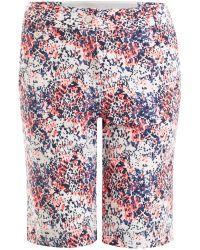 Calvin Klein | Blue Tech Shorts | Lyst