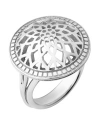 Links of London | Metallic Timeless Sterling Silver Domed Ring | Lyst