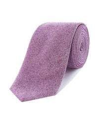Richard James | Purple Crystal Silk Tie for Men | Lyst