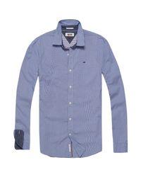 Tommy Hilfiger | Blue Basic Stripe Shirt for Men | Lyst