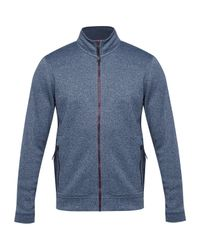 Ted Baker | Blue Majtape Zip Up Jumper for Men | Lyst