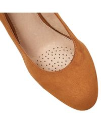 Lotus - Brown Jelico Shiny Cork Wedges - Lyst