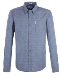 Ben Sherman | Blue End On End Gingham Shirt for Men | Lyst
