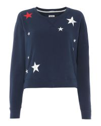 Tommy Hilfiger | Blue Stars Sweater | Lyst