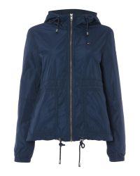 Tommy Hilfiger   Blue Basic Jacket   Lyst