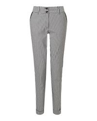 James Lakeland | White Gingham Turn Up Trousers | Lyst