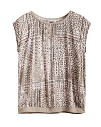 Sandwich | Brown In The Mix Print Top | Lyst