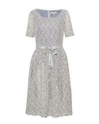 Great Plains | Gray Lexie Lace Dress | Lyst