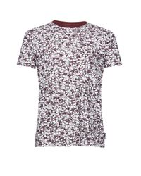 French Connection | Red Bail T-shirt for Men | Lyst