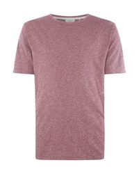 Minimum | Purple Crew Neck Short Sleeve T-shirt for Men | Lyst