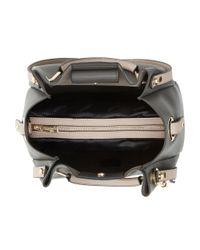 Dune | Blue Dophie Medium Fold Over Top Handle Bag | Lyst