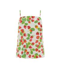 Warehouse | Green Strawberry Print Cami | Lyst