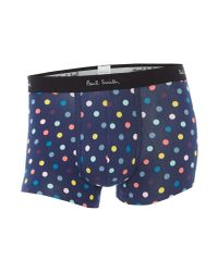 Paul Smith - Blue Men's Spotted Trunk for Men - Lyst