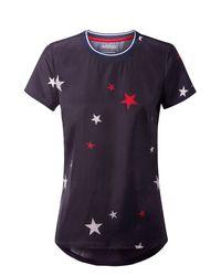 Tommy Hilfiger | Blue Print Star Top | Lyst