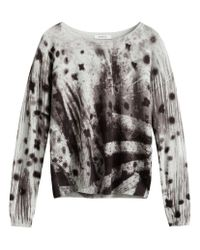 Sandwich - Gray Abstract Print Jumper - Lyst