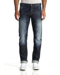 Hudson Jeans - Blue Blake Slim Straight Selvage for Men - Lyst