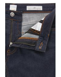 BOSS Slim-fit Jeans In Deep-blue Stretch Denim