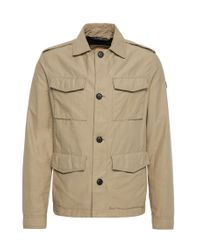 BOSS Orange | Natural Cotton-blend Field Jacket: 'oricky-w' for Men | Lyst