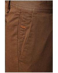 BOSS Orange - Brown 'schino Slim D'   Slim Fit, Stretch Cotton Chino Pants for Men - Lyst