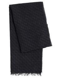 HUGO | Multicolor 'men Z' | Virgin Wool Blend Scarf for Men | Lyst