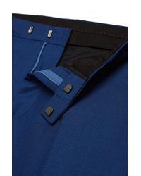 HUGO - Blue 'arvon/wiant/hilwert'   Slim Fit, Super 100 Virgin Wool 3-piece Suit for Men - Lyst